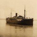 State ship Koolinda, Cambridge Gulf near Wyndham 1933.