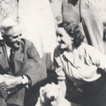 ED and MD with Dermott and Patrick Durack, Dublin, Ireland 1936