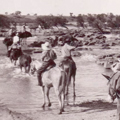 Ivanhoe crossing, dry season, early 1930s.
